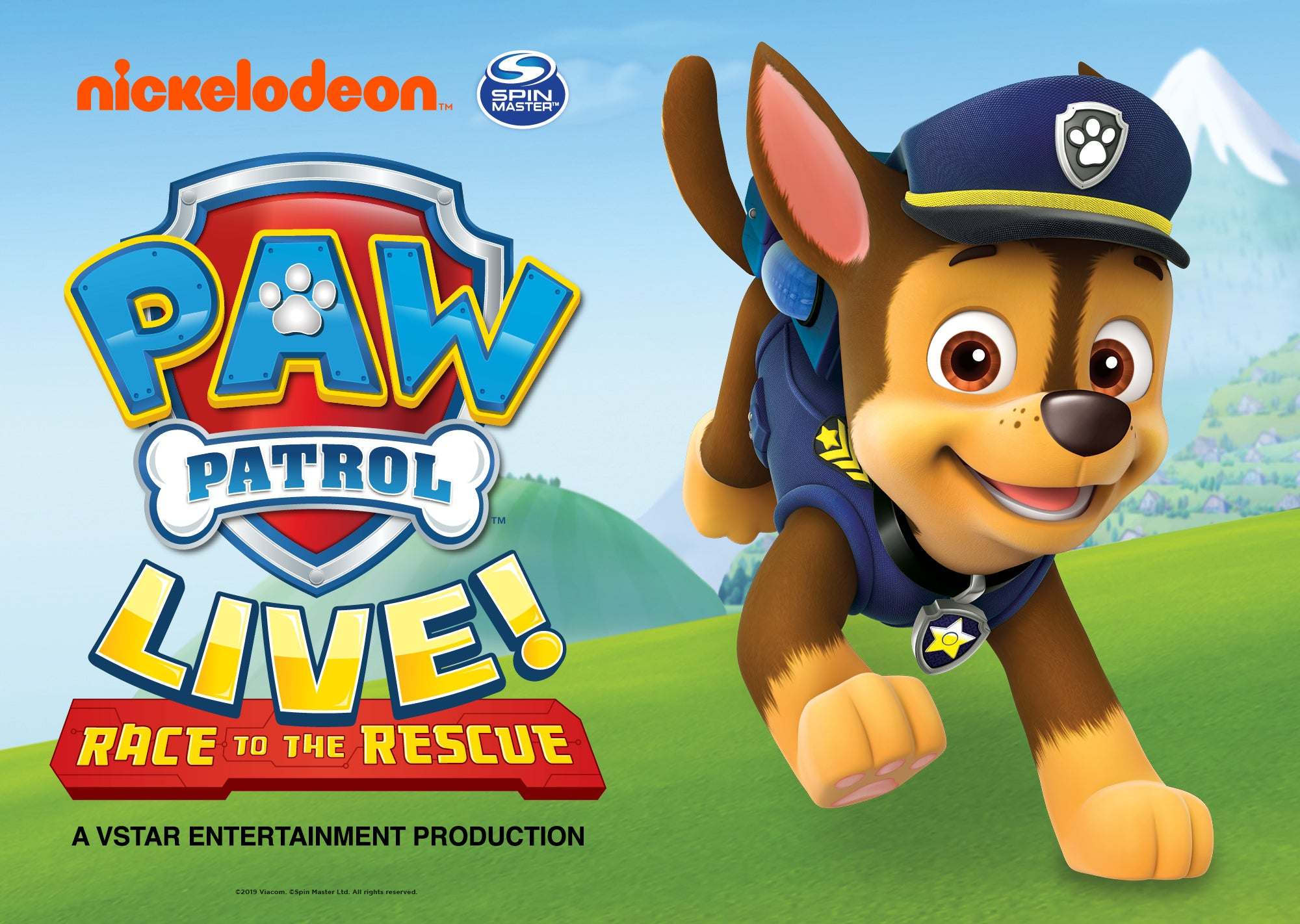 """PAW Patrol Live! """"Race to the Rescue"""" Brings Family Fun to Cedar Park"""