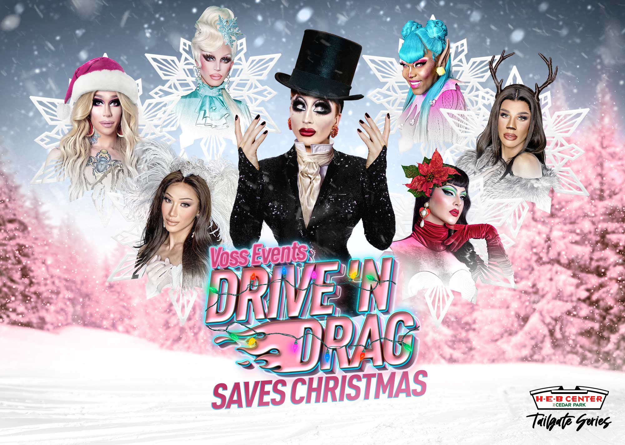 Salty Christmas In The Park 2020 Tailgate Series: Drive 'N Drag Saves Christmas | H E B Center