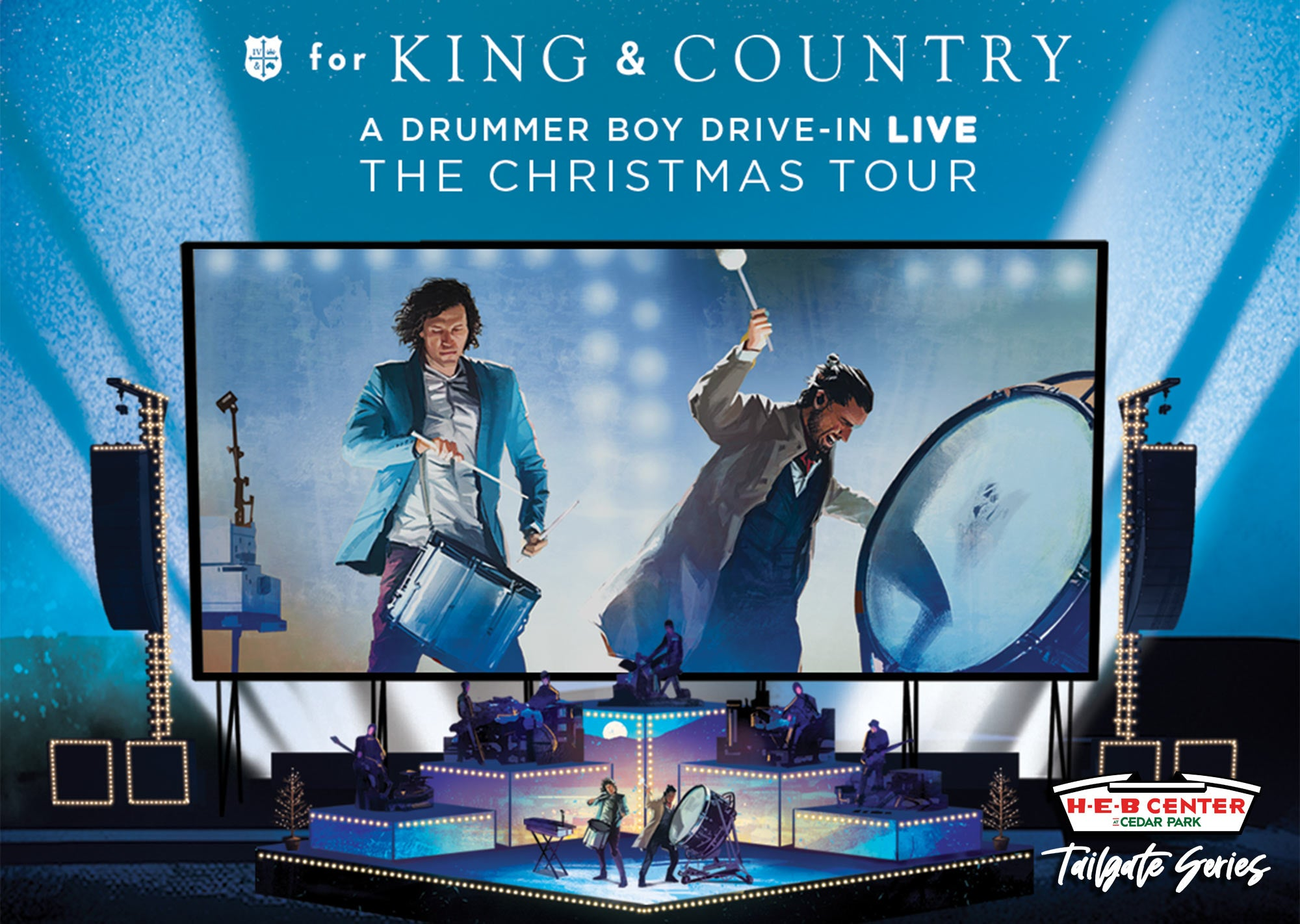 Salty Christmas In The Park 2020 Tailgate Series: for King & Country   SOLD OUT | H E B Center